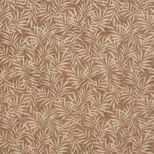 Load image into Gallery viewer, Essentials Chenille Brown Cream Leaf Branches Upholstery Fabric