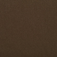 Load image into Gallery viewer, Essentials Cotton Twill Brown Upholstery Fabric / Forest