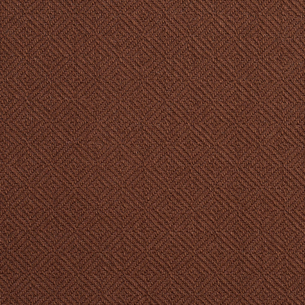 Essentials Crypton Brown Geometric Diamond Upholstery Fabric / Chocolate
