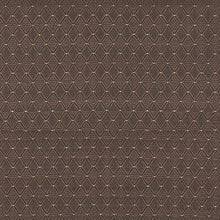 Load image into Gallery viewer, Essentials Heavy Duty Mid Century Modern Scotchgard Upholstery Fabric Brown Geometric Diamond / Java
