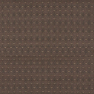 Essentials Heavy Duty Mid Century Modern Scotchgard Upholstery Fabric Brown Geometric Diamond / Java
