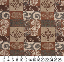 Load image into Gallery viewer, Essentials Chenille Brown Gray Tan Beige Tapestry Kilim Upholstery Fabric / Cobblestone