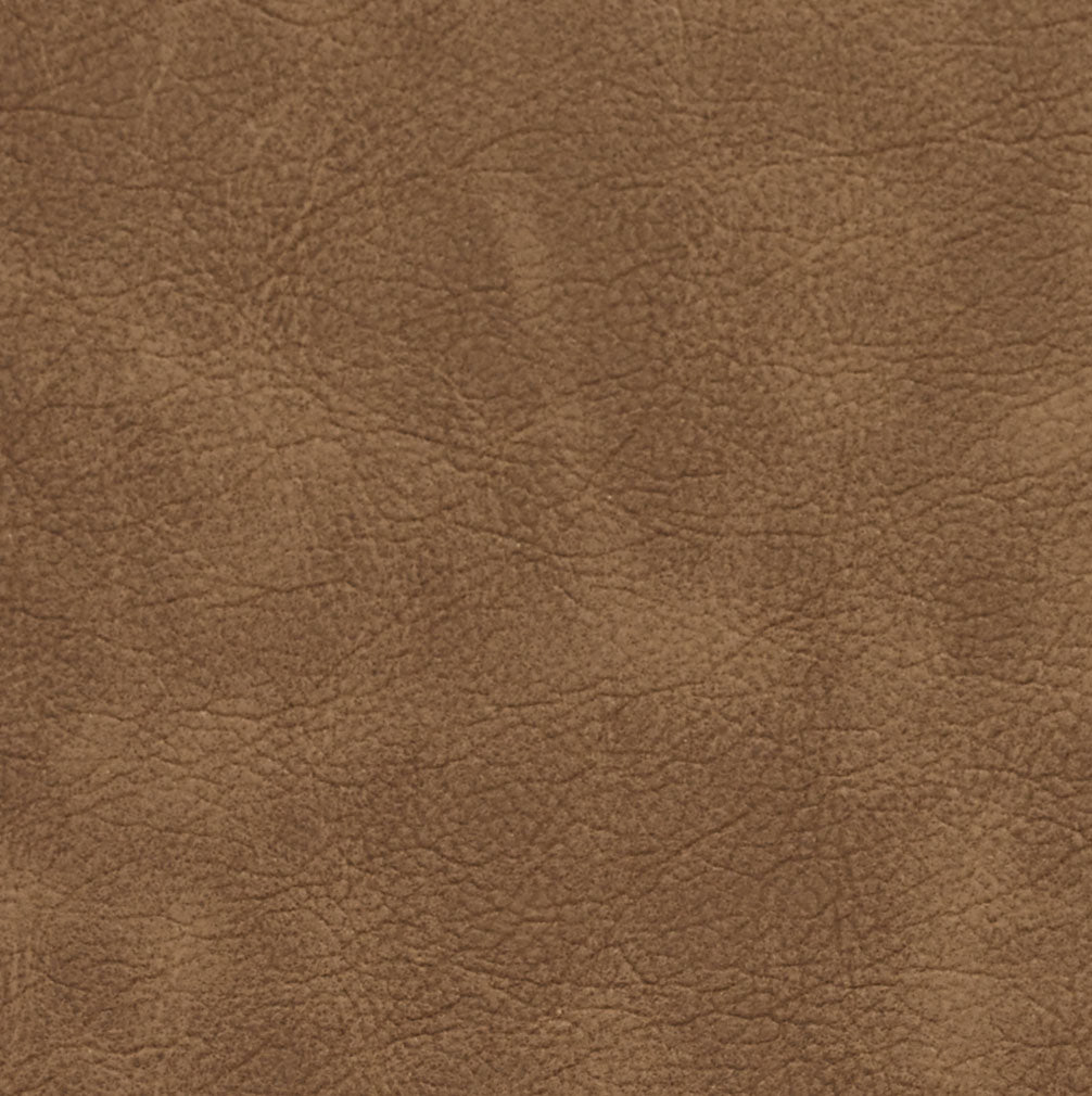 Essentials Breathables Brown Heavy Duty Faux Leather Upholstery Vinyl / Latte