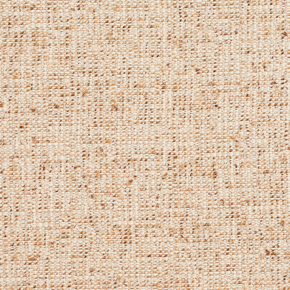 Essentials Crypton Brown Mustard White Upholstery Fabric / Burlap