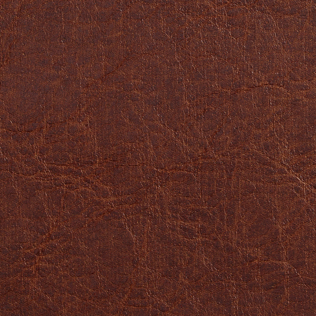 Essentials Breathables Brown Heavy Duty Faux Leather Upholstery Vinyl / Rawhide