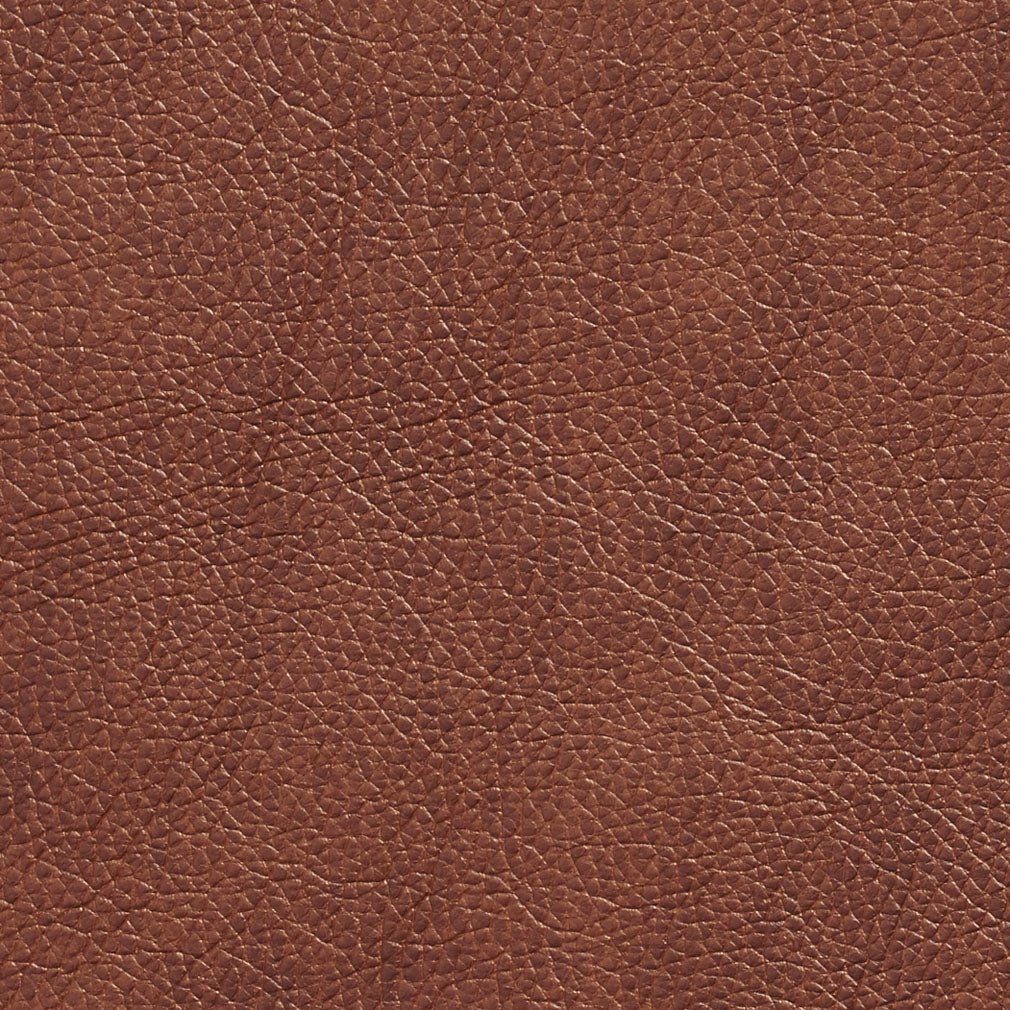 Essentials Breathables Brown Heavy Duty Faux Leather Upholstery Vinyl / Saddle