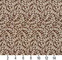 Load image into Gallery viewer, Essentials Brown White Upholstery Fabric / Desert Vine