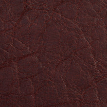 Load image into Gallery viewer, Essentials Breathables Burgundy Heavy Duty Faux Leather Upholstery Vinyl / Brandy