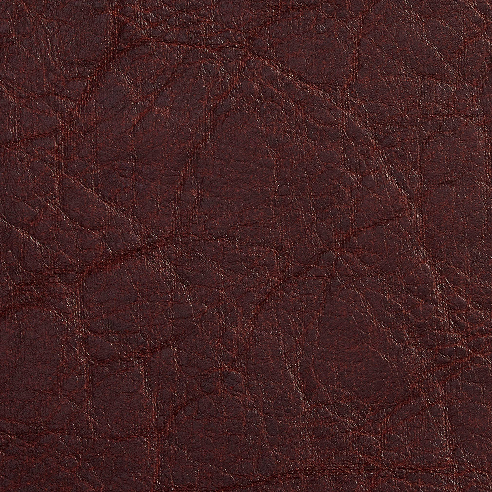 Essentials Breathables Burgundy Heavy Duty Faux Leather Upholstery Vinyl / Brandy