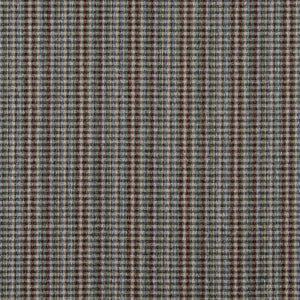 Essentials Burgundy Green Blue Beige Checkered Plaid Upholstery Fabric / Wine