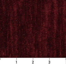 Load image into Gallery viewer, Essentials Chenille Burgundy Upholstery Fabric / Plum