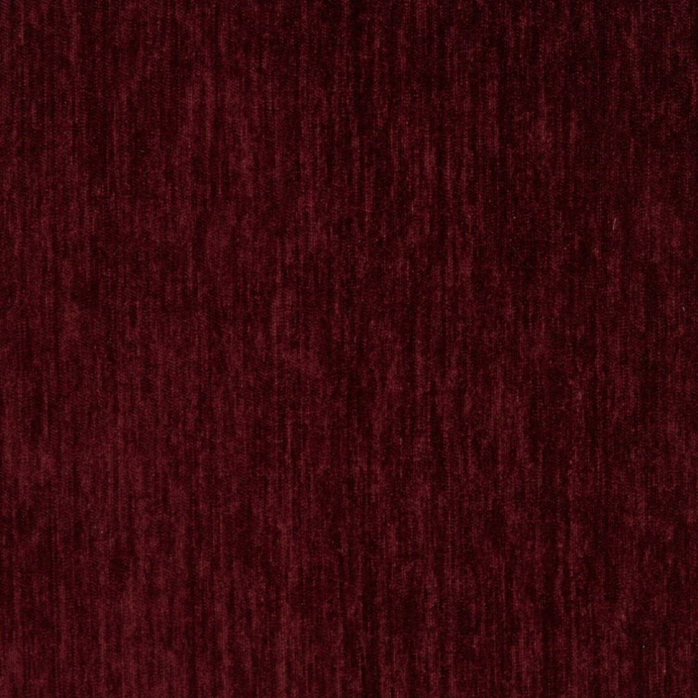 Essentials Chenille Burgundy Upholstery Fabric / Plum