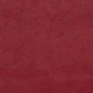 Essentials Breathables Red Heavy Duty Faux Leather Upholstery Vinyl / Poppy
