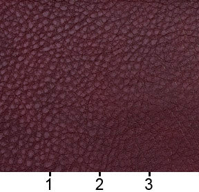 Essentials Breathables Burgundy Heavy Duty Faux Leather Upholstery Vinyl / Wine