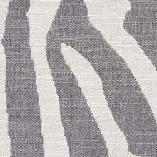 Load image into Gallery viewer, SCHUMACHER AMANZI INDOOR OUTDOOR FABRIC / CHARCOAL