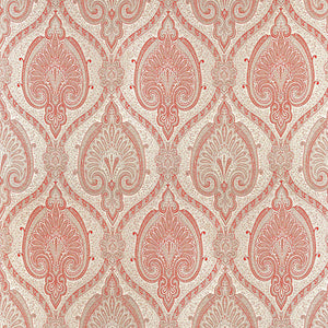 SCHUMACHER ODALISQUE FABRIC / CINNABAR