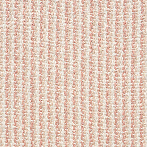 SCHUMACHER SHORELINE STRIPE INDOOR OUTDOOR FABRIC / CLAY