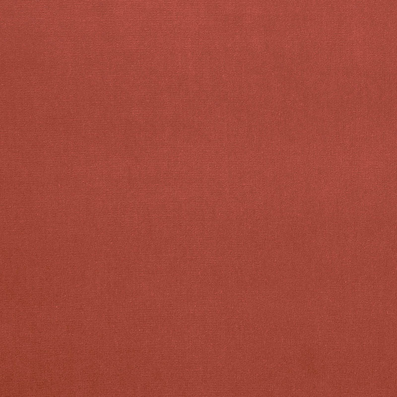 SCHUMACHER GAINSBOROUGH VELVET FABRIC / CORAL