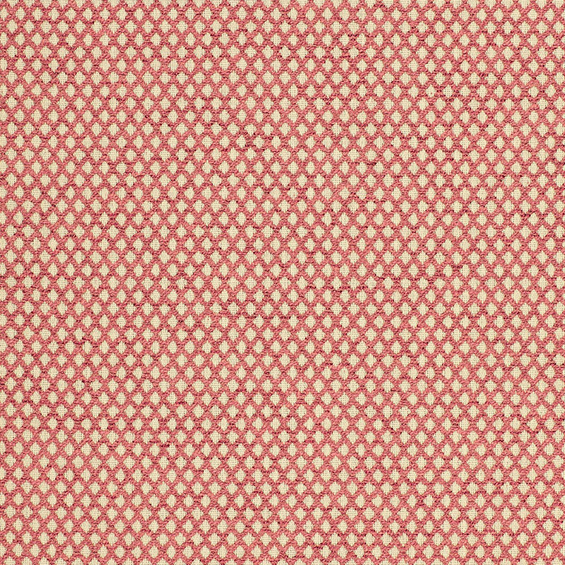 SCHUMACHER LOSANGE BOUCLE' FABRIC / CRANBERRY