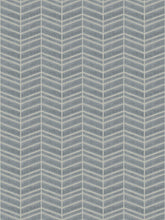 Load image into Gallery viewer, 7 Colorways Geometric Stripe Chevron Cut Velvet Upholstery Fabric Gray Blush Navy Blue Beige Neutral