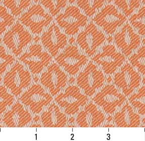 Essentials Indoor Outdoor Upholstery Drapery Fabric Coral / Nectar Mosaic