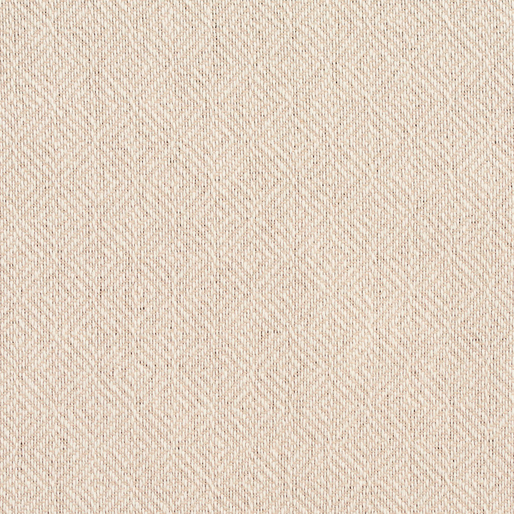 Essentials Crypton Cream Geometric Diamond Upholstery Fabric / Ivory