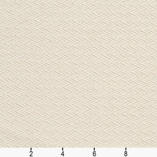 Load image into Gallery viewer, Essentials Upholstery Сhevron Fabric / Cream
