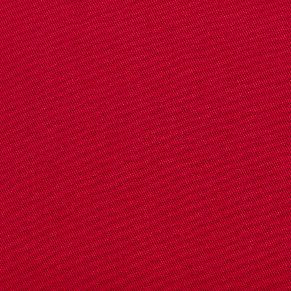 Essentials Cotton Twill Crimson Upholstery Fabric / Blossom
