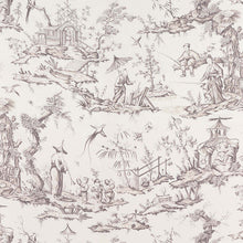 Load image into Gallery viewer, SCHUMACHER SHENGYOU TOILE FABRIC / DRIFTWOOD