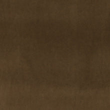 Load image into Gallery viewer, Essentials Cotton Velvet Dark Brown Upholstery Drapery Fabric