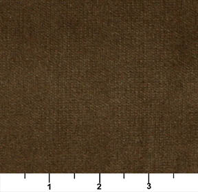 Essentials Cotton Velvet Dark Brown Upholstery Drapery Fabric