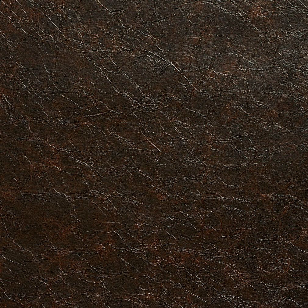 Essentials Breathables Dark Brown Heavy Duty Faux Leather Upholstery Vinyl / Bark