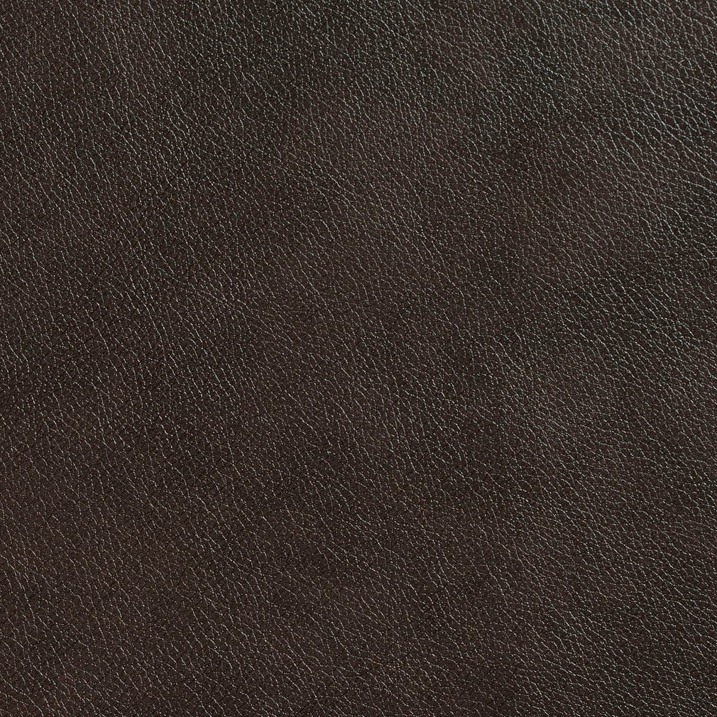 Essentials Recycled Genuine Leather Vinyl Dark Brown / Chestnut