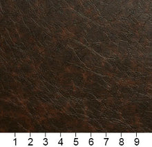 Load image into Gallery viewer, Essentials Breathables Dark Brown Heavy Duty Faux Leather Upholstery Vinyl / Mocha