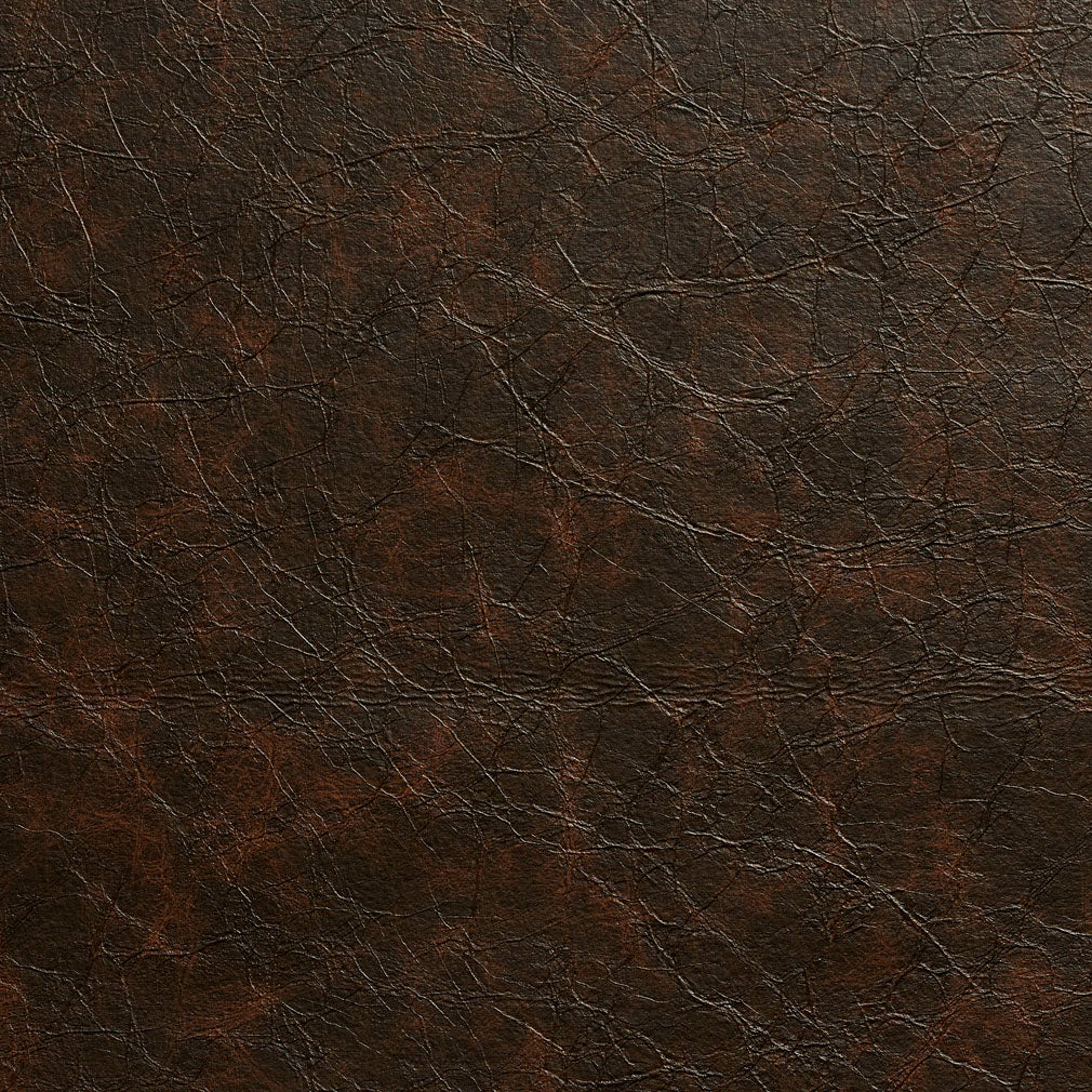 Essentials Breathables Dark Brown Heavy Duty Faux Leather Upholstery Vinyl / Mocha