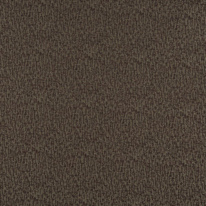 Essentials Heavy Duty Mid Century Modern Scotchgard Dark Brown Upholstery Fabric / Walnut