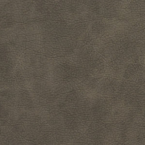 Essentials Breathables Dark Gray Heavy Duty Faux Leather Upholstery Vinyl / Mushroom