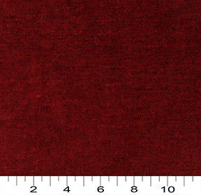 Essentials Cotton Twill Dark Red Upholstery Drapery Fabric