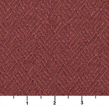 Load image into Gallery viewer, Essentials Heavy Duty Mid Century Modern Scotchgard Upholstery Fabric Dark Red Abstract / Maroon