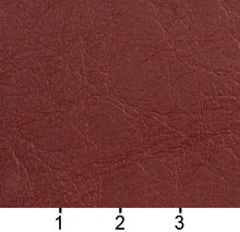 Load image into Gallery viewer, Essentials Breathables Dark Red Heavy Duty Faux Leather Upholstery Vinyl / Adobe