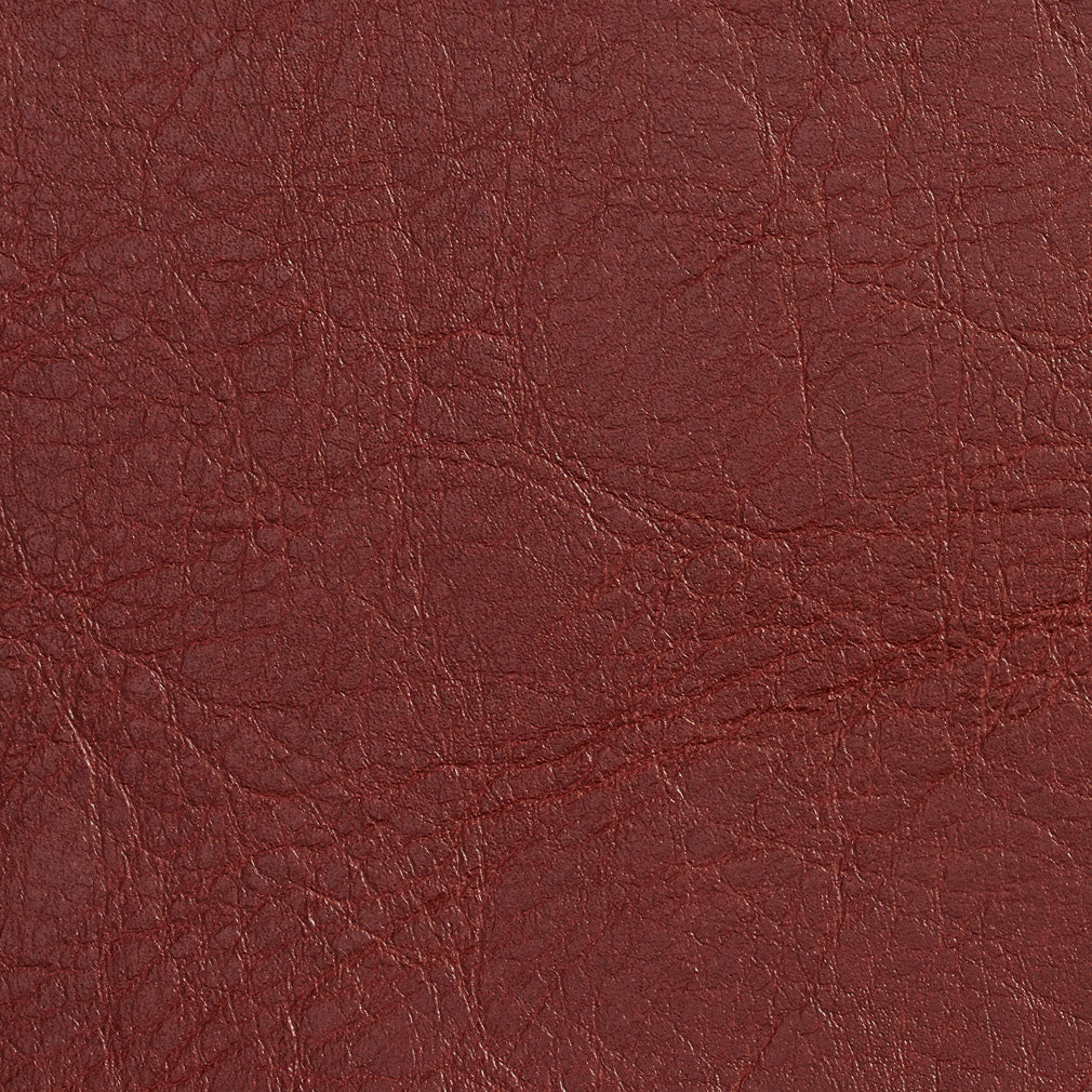 Essentials Breathables Dark Red Heavy Duty Faux Leather Upholstery Vinyl / Adobe