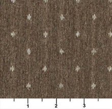 Load image into Gallery viewer, Essentials Dark Tan Beige Upholstery Fabric / Café Dot