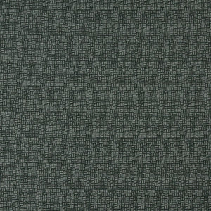 Essentials Dark Teal Abstract Upholstery Fabric / Granite