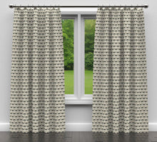 Load image into Gallery viewer, Essentials Heavy Duty Diamond Upholstery Drapery Fabric / Black Gray White