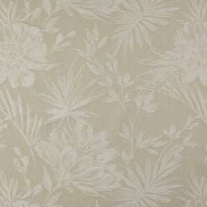 5 Colors Botanical Upholstery Drapery Fabric Beige Ivory Blue Gray Yellow Aqua / RMIL13
