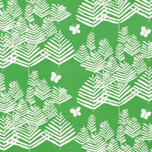 Load image into Gallery viewer, SCHUMACHER FERN SILHOUETTE FABRIC / GREEN