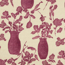 Load image into Gallery viewer, SCHUMACHER HUGO FLORAL FABRIC / FUCHSIA