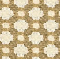 Schumacher Betwixt fabric /  Biscuit/Ivory