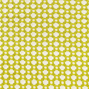 Schumacher Betwixt fabric /  Chartreuse/Ivory