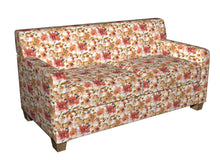 Load image into Gallery viewer, Essentials Drapery Upholstery Floral Print Fabric / Coral Pink White